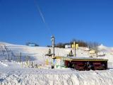 Безлюдный Туутари-парк, температура около -30 градусов имени Цельсия.  Катались, проверяли снаряжение перед Хибинами.