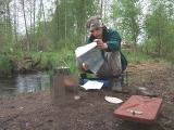 Обед на озере Волоярви
