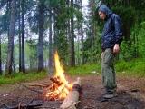 Разгоняем дождь огнём