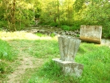 Речка Хаболовка, развалины моста