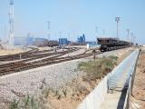 Угольный терминал в порту Усть-Луга