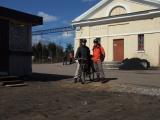 Прибытие в Сосново