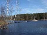 Берег озера у деревни Викингов