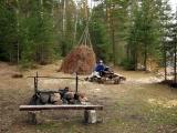 Стоянка на озере Ворошиловском