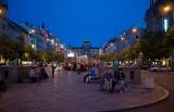 Вацлавская площадь вечером