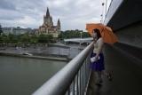 Дунай под дождем